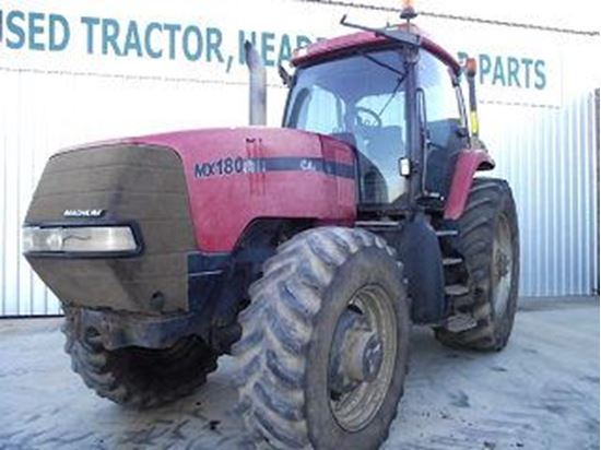 case tractor year by serial number