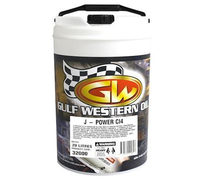 Picture of J - Power, SAE 15w40, CURRENT INVENTORY ONLY To Fit Gulf Western® - OIL