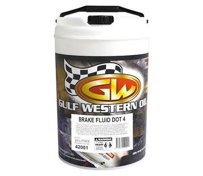 Picture of Brake Fluid, Dot 4 To Fit Gulf Western® - OIL