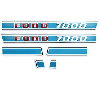 Ford/New Holland 7000 Tractor Sheet Metal, Cab, Air