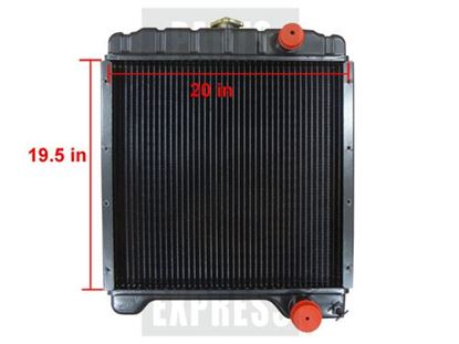 Case 580 Tractor Cooling System, Radiators, Water Pumps, Fan