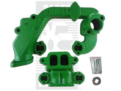 Picture of Manifold, 3 Cylinder, Gas, Intake/Exhaust Set To Fit John Deere® - NEW (Aftermarket)