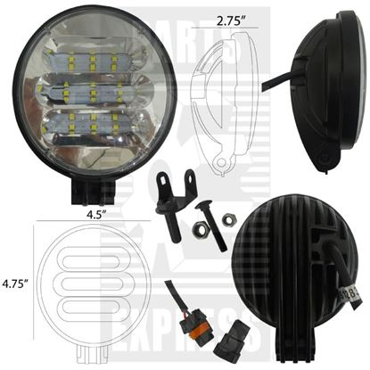 Picture of Round LED light To Fit John Deere® - NEW (Aftermarket)