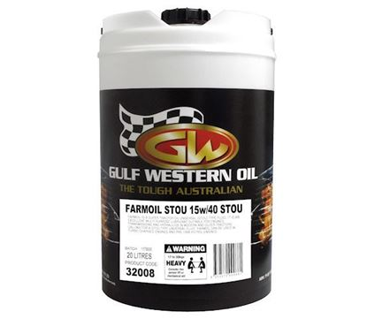 Picture of Farmoil, SAE 15w40 To Fit Gulf Western® - OIL