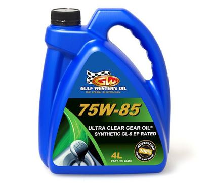 Picture of Oil, Low Vis Plus Gear Lube 75W-85 To Fit Gulf Western® - OIL
