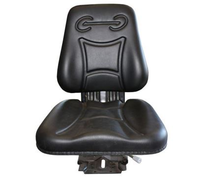 Picture of Seat, Suspension, Black To Fit Miscellaneous® - NEW (Aftermarket)