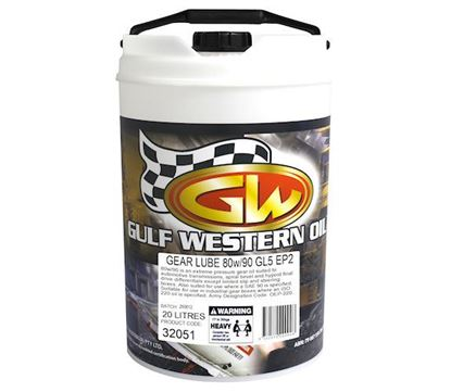 Picture of Gear Lube, SAE 80w90 To Fit Gulf Western® - OIL