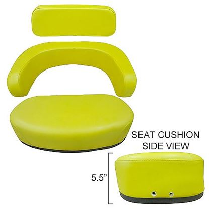 Picture of Seat, Cushion, 3 Piece Set To Fit John Deere® - NEW (Aftermarket)